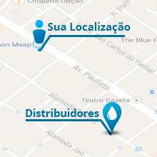 Navegue pelo mapa e encontre os distribuidores